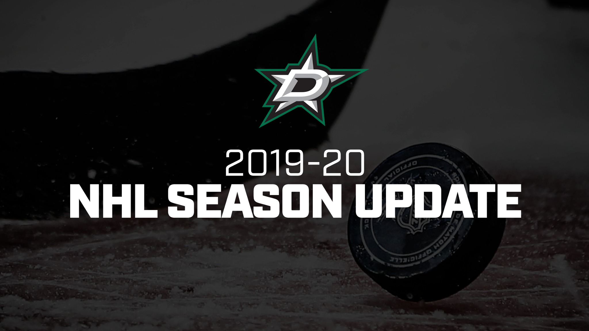 NHL 2019-20 Season Suspended