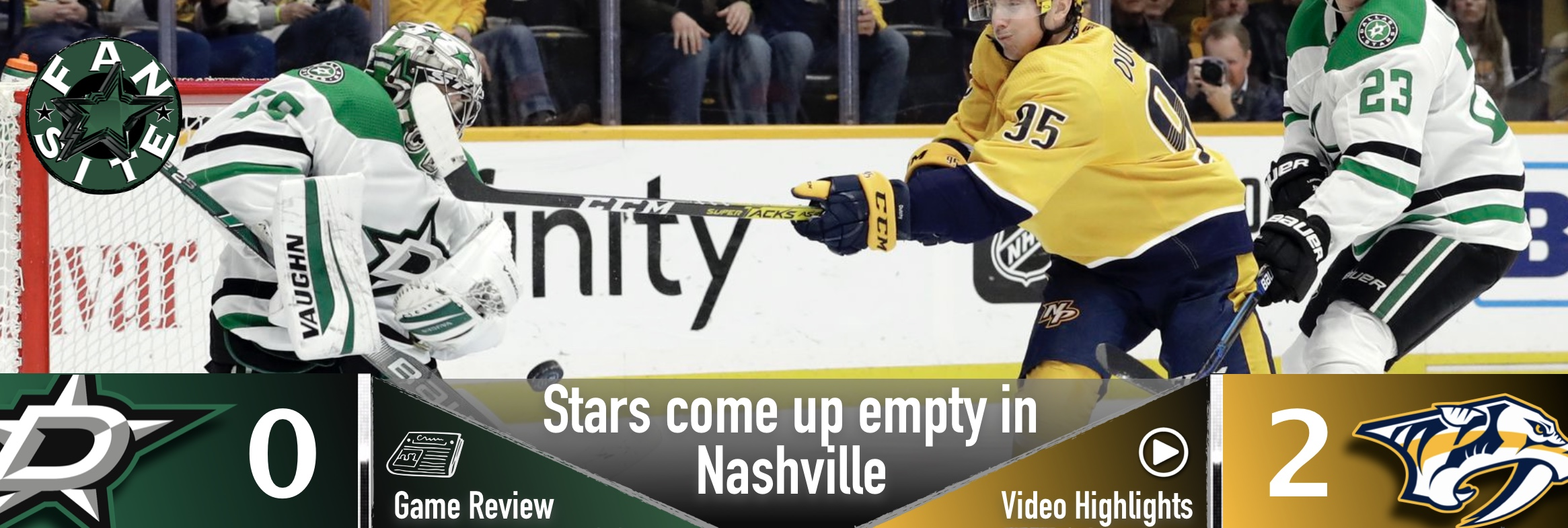 Stars come up empty in Nashville