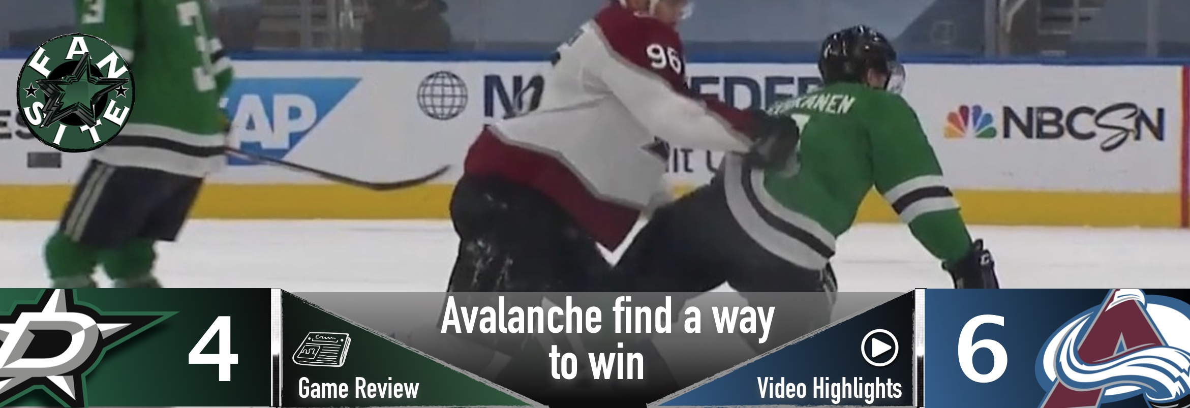Avalanche find a way to win