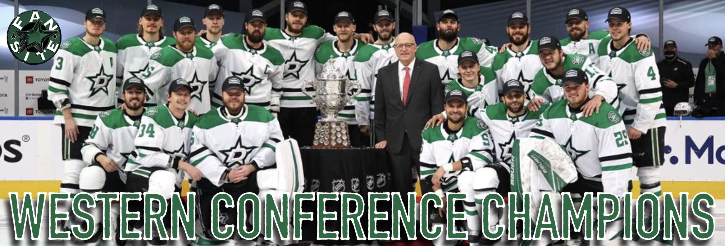 Dallas Stars, the 2020 Western Conference Champions!