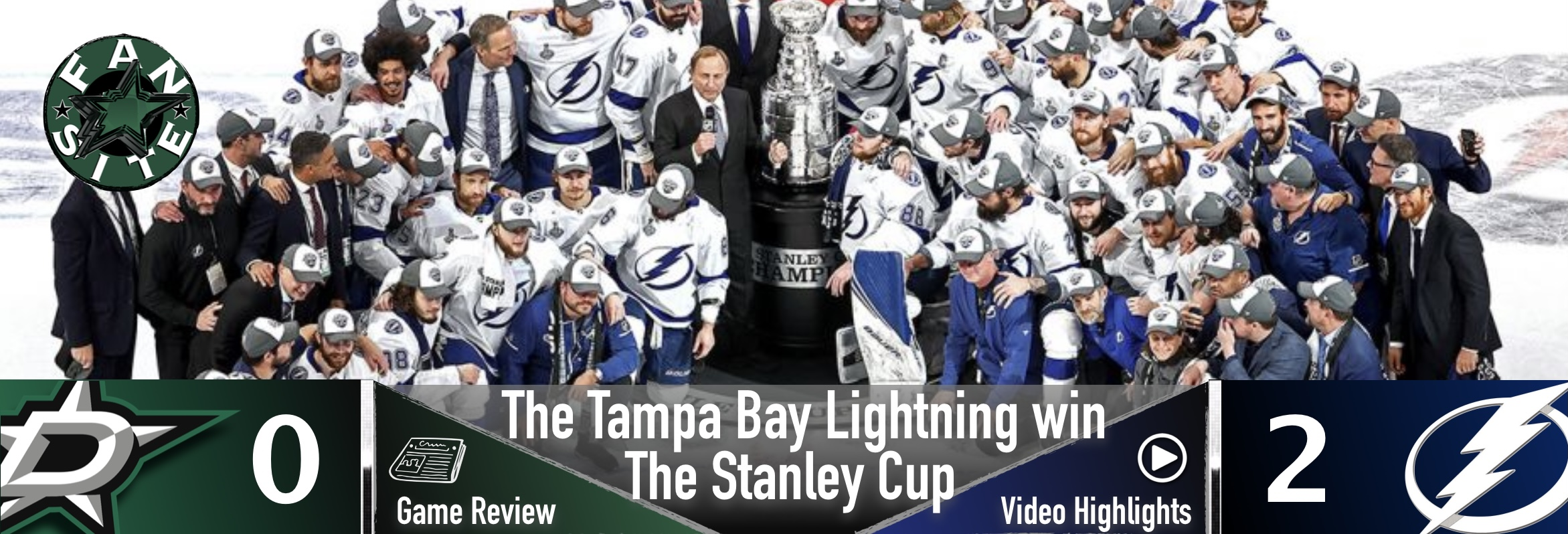 The Tampa Bay Lightning are the Stanley Cup Champions!
